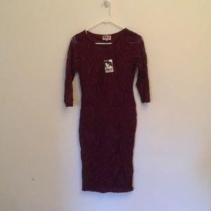 Burgundy/Deep Red/Oxblood Dress